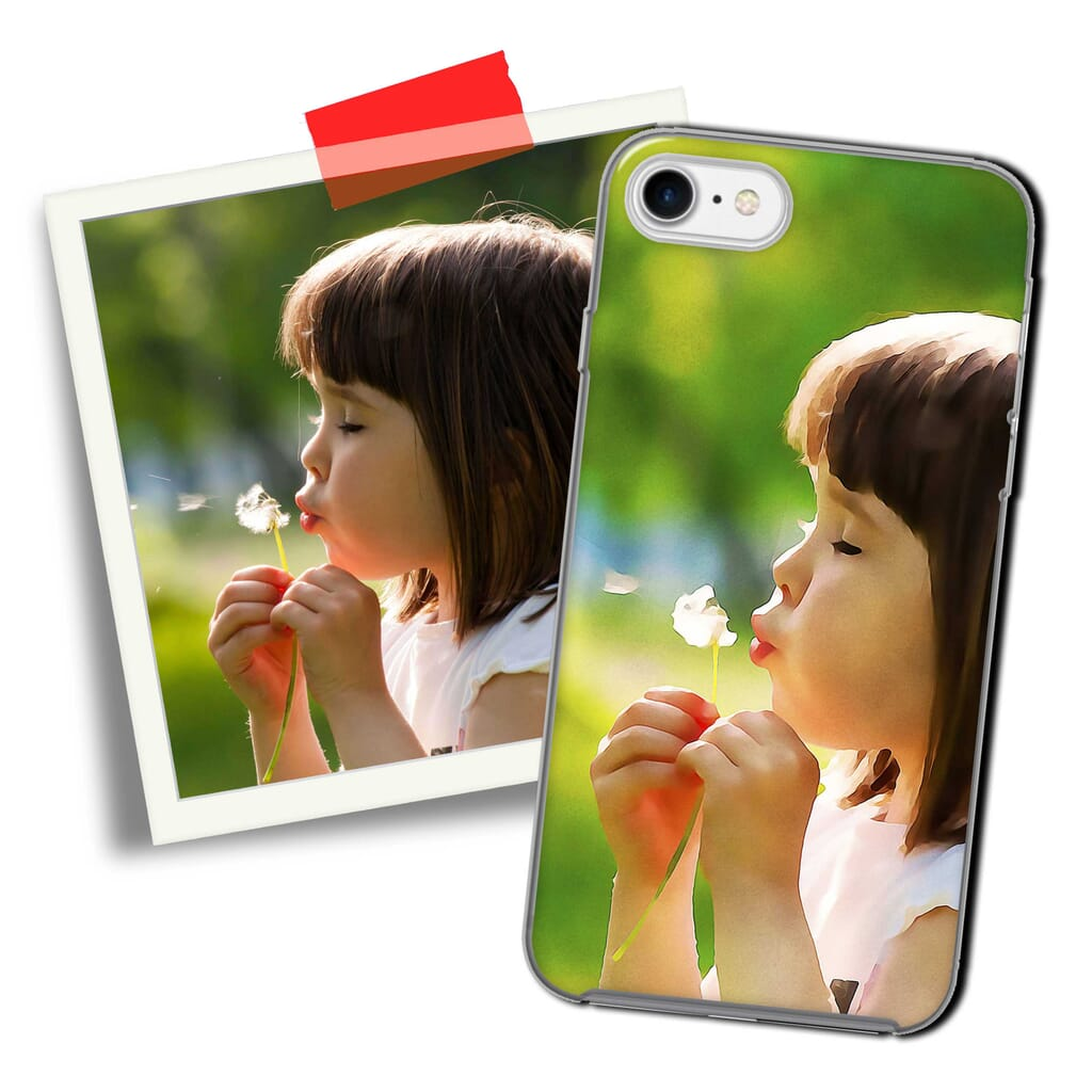 Custom printed cell phone cases