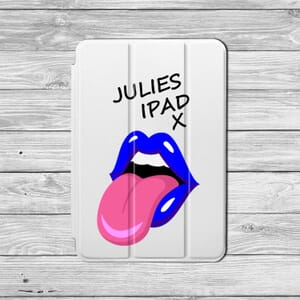 Ipad blue lips