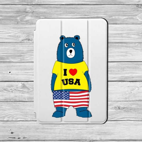 I love USA yellow custom tshirt