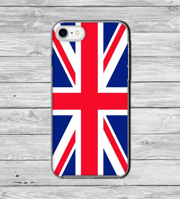 Union Jack Country phone case