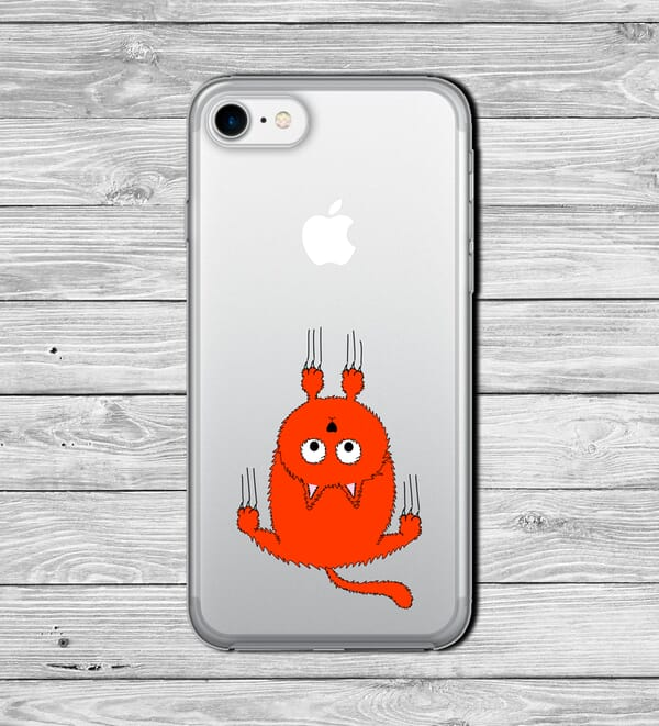 Hanging Pussy cat Phone case