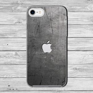 Iphone steel effect case